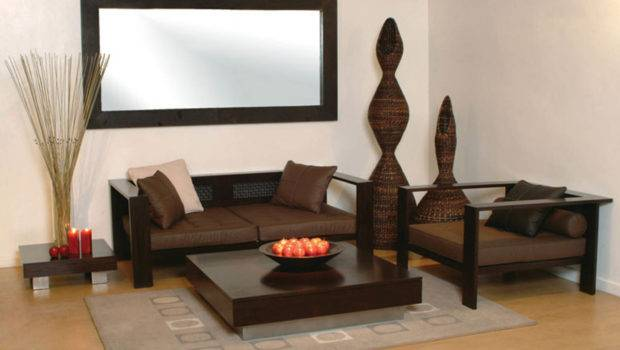 Living Room Small Furniture Close