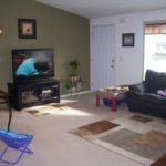 Living Room Walls Different Colors Painting One Wall Standout Color