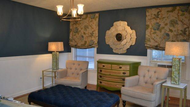 Living Room Walls Painted Teal Color Called Mythic Forest