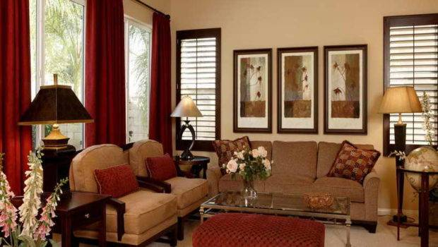 Living Room Warm Colors Rooms