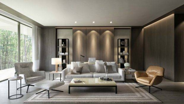 Living Rooms Put Unique Spin Modern Means
