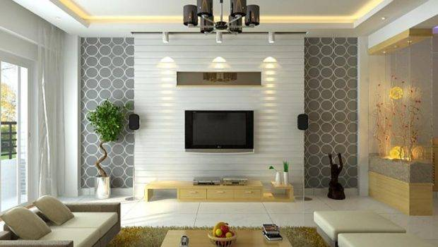 Living Small Room Design House Interior Chandelier