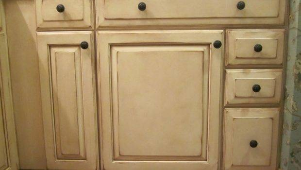 Llc Louisville Faux Hand Painted Cabinets Before After