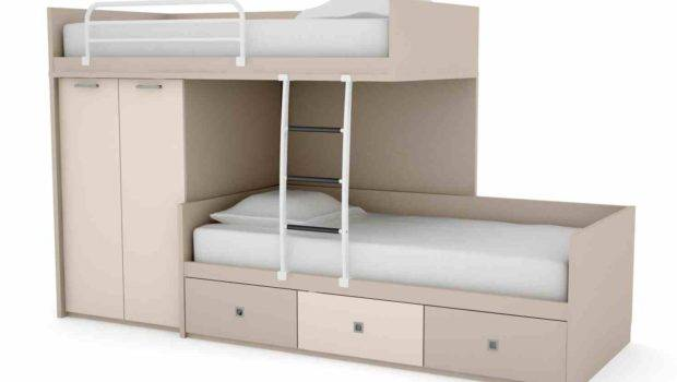 Loft Bed Funky Bunk Beds Childrens Storage Space Custom