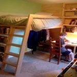 Loft Bed Ideas Attached Wall Plans
