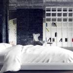 Loft Bedroom Tranquil Even Its Rough Industrial Elements