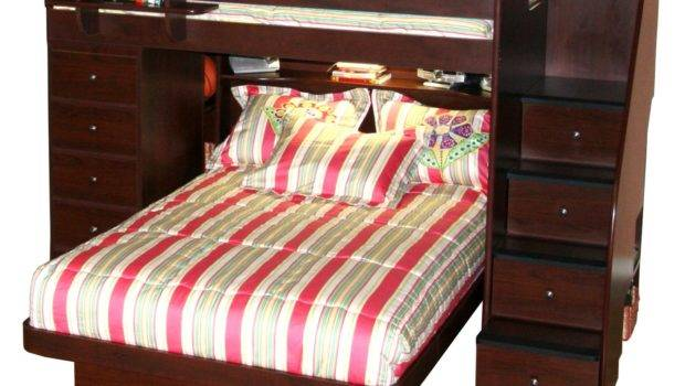 Loft Beds Two Wood Interesting Space Saver Kids