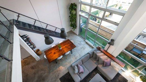 Loft Brings Dash New York City Charm Downtown Vancouver