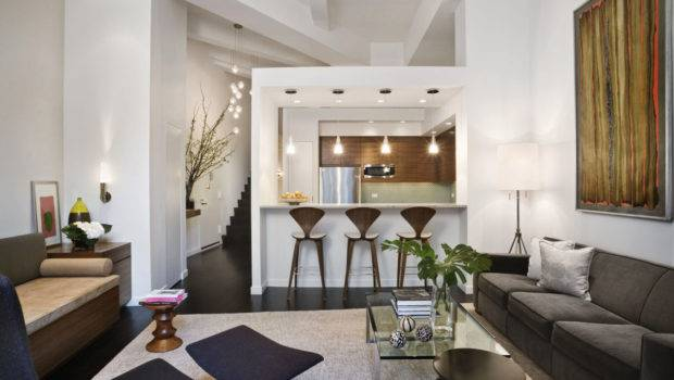 Loft Style Apartment Design New York Idesignarch Interior