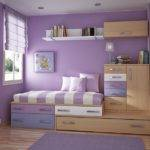 Lofted Bed Small Bedroom Decoration