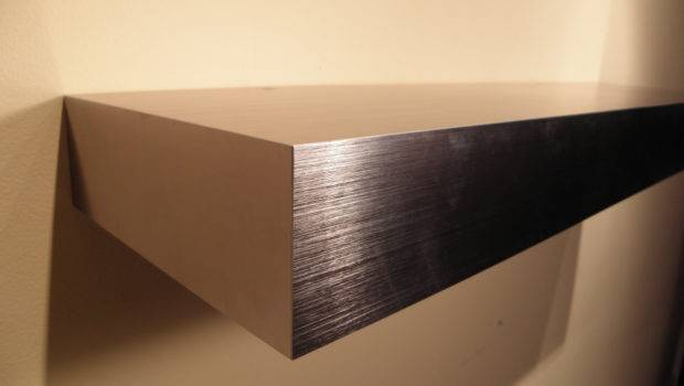 Long Wall Shelf Stainless Steel Real Authentic