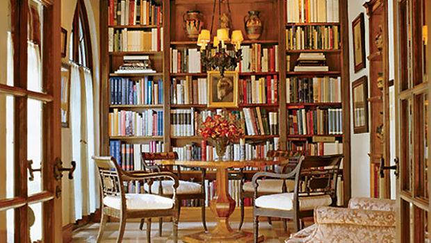 Looking Round Table Library Making Lovely
