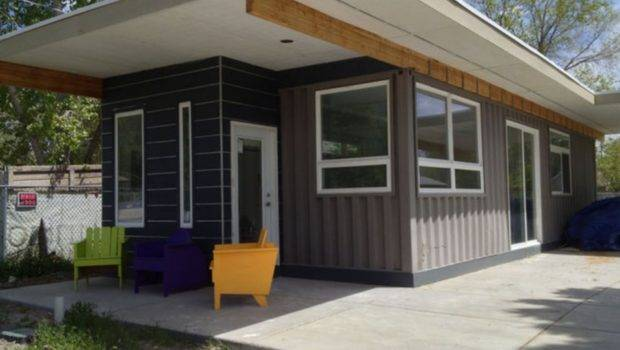 Looks Deceiving Eco Friendly Shipping Container House