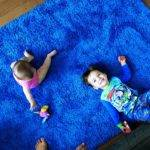 Love Marriage Baby Nap Bought Blue Rug