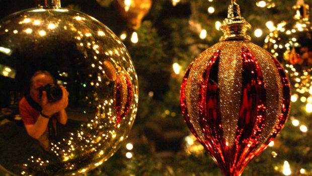 Love Ornaments Without Christmas Tree Just