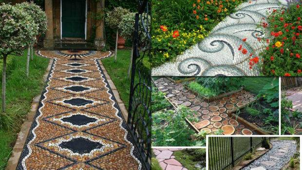 Lovely Garden Path Walkways Ideas Home Gardening