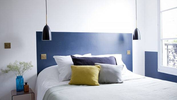 Low Budget Headboard Design Idea Paint Directly