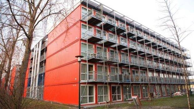 Low Income Shipping Container Housing Amsterdam