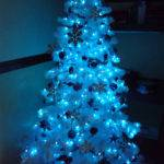 Luhivy Favorite Things Silver White Blue Christmas