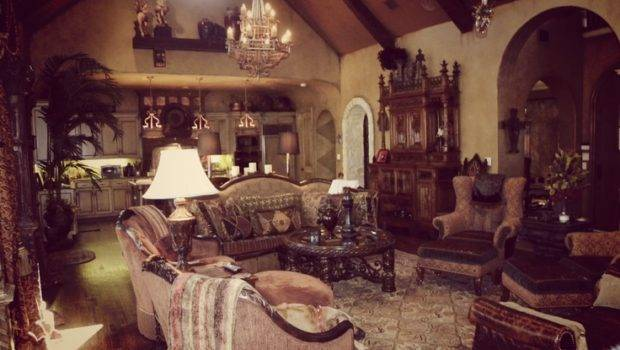 Luxurious Gothic Living Room House Pinterest