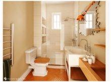 Luxurious Small Wooden Bathroom Decozilla
