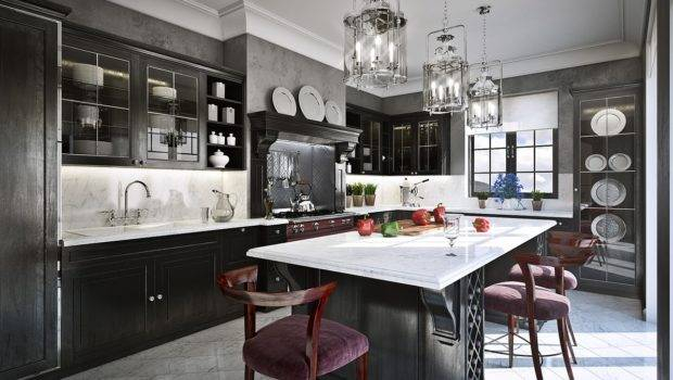Luxurious Traditional Kitchens