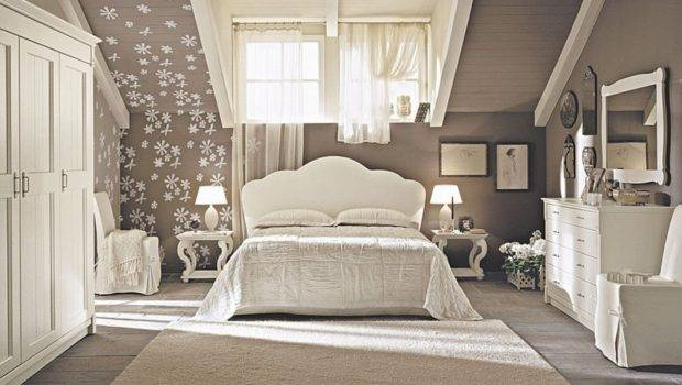 Luxury Attic Bedroom Design Ideas White Furniture Homes
