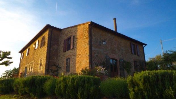 Luxury Farmhouse Tuscany Val Orcia Two Large Independent