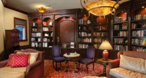 Luxury Home Library Design