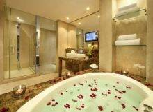 Luxury Hotel Bathroom Bahrain Gulf Love Happens Blog