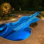Luxury Life Design Dazzling Swimming Pool Replica Century