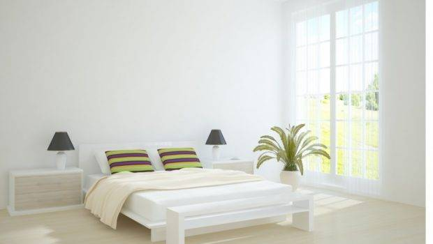 Luxury White Bedroom Interior Design Ideas Indoor Plant Decor