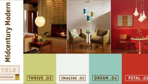 Mad Mid Century Yolo Modern Color Palette