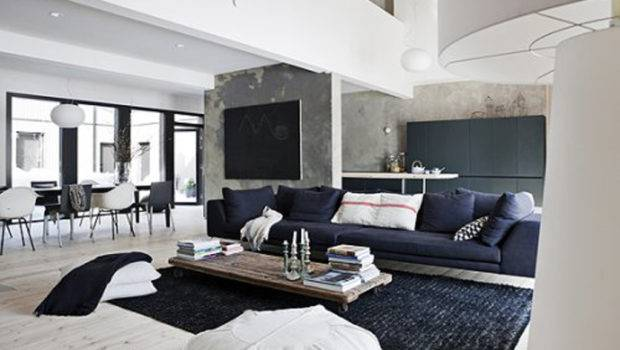 Magnificent Black White Living Room Designs