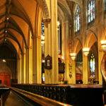 Majestic Gothic Revival Interior Grace Church