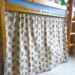 Make Bunk Bed Curtains