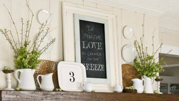 Make Over Mantel Your Fireplace Great Place