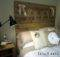 Make Reclaimed Wood Headboard New Less Than