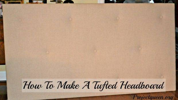 Make Tufted Headboard