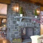 Makeover Ideas Cobblestone Fireplace Fieldstone