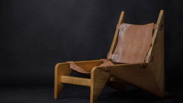 Making Scandinavian Inspired Wood Leather Chair