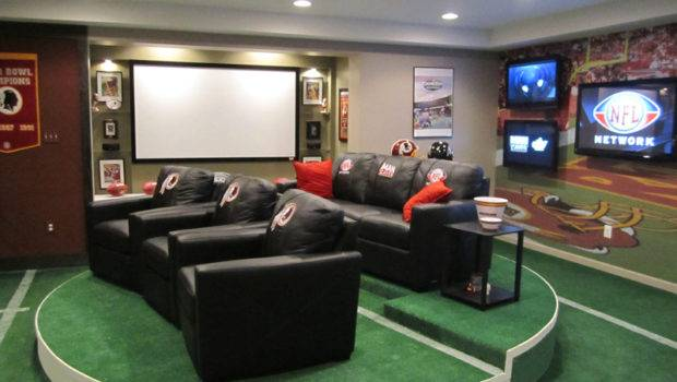 Man Caves Nfl Network Complete Hydraulic Service Sales Inc