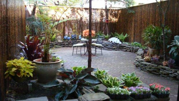 Manhattan Townhouse Gardens Backyard Spaces Designed Planted