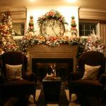 Mantel Decorations Decor Christmas Decorating Ideas Fireplace