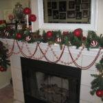 Mantel Ideas Decor Elegant Christmas Fireplace Decorating Idea