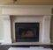 Mantels Beautiful Fireplace Mantel Painted White