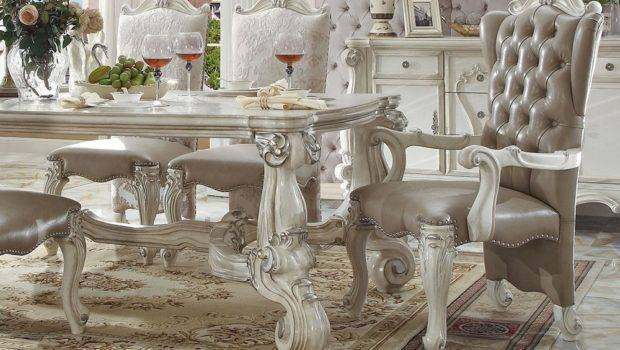 Marlyn Victorian Dining Room Table Set