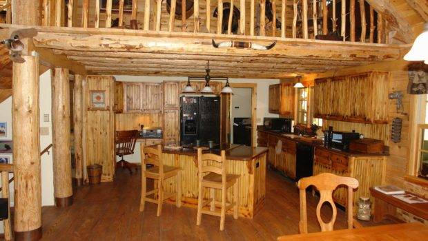 Marvelous Rustic Kitchen Cabinets Using Wood Base