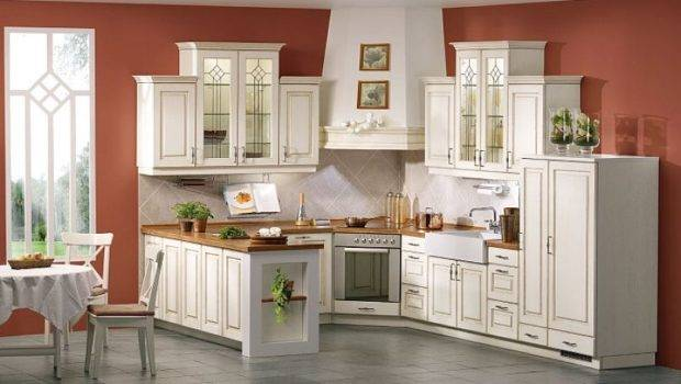 Marvelous Segment Antique White Kitchen Cabinets