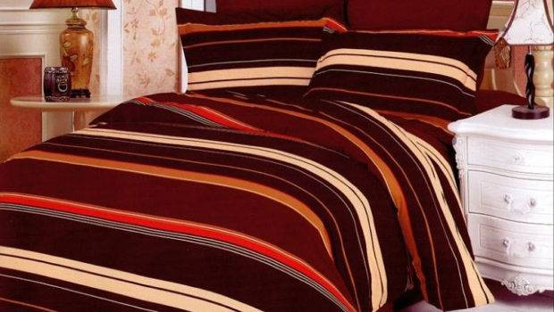 Masculine Duvet Covers Chocolate Brown Bedding Sets Velvet Silky